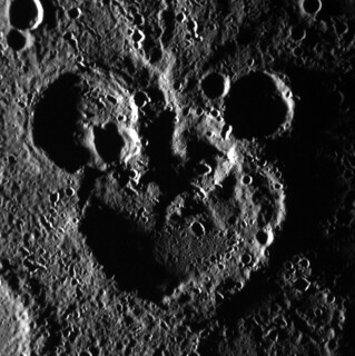 Mickey Mouse Spotted on Mercury!