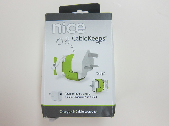 CableKeeps - Gulp (Box Front)