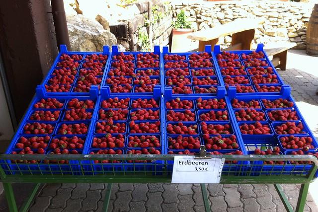 Erdbeeren/Preise beim Spargelhof Schneider