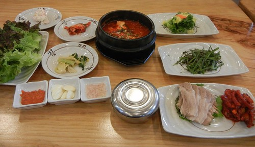 Korean set meal