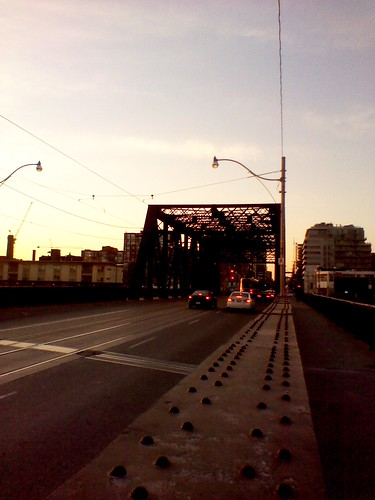 Sir Isaac Brock Bridge, Bathurst Street, April 2012