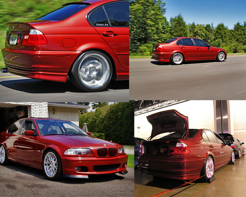 Northjersey M3s Start To Finiwell Its Never Really Finished Bmw 325i Up 2001 Sienna Red Black
