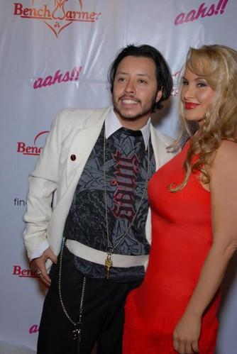 Actors Carlos Ramirez & Robin Arcuri