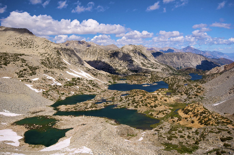 The view from Bishop Pass