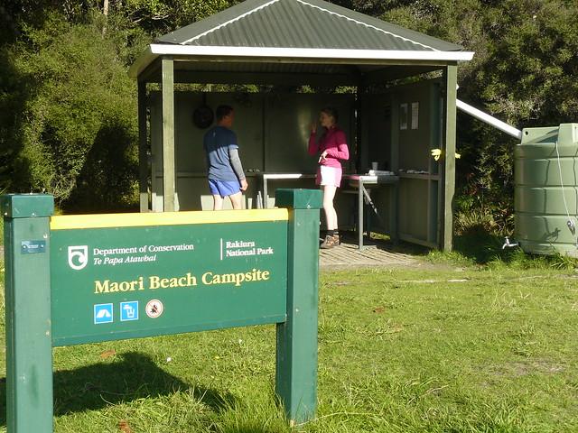 Maori Beach campsite - Rakiura Track