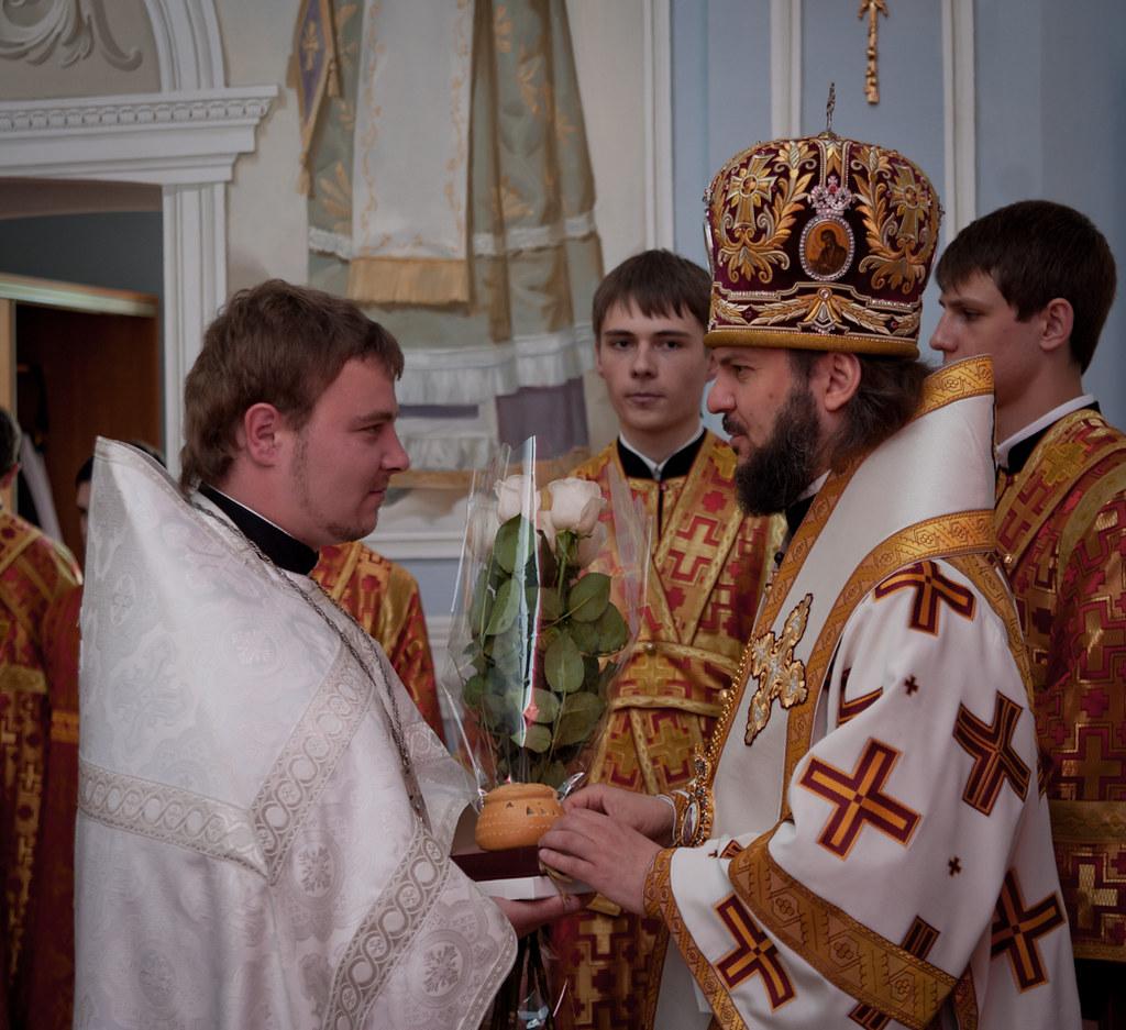 Епископ Амвросий и иер. Алексей Третевич
