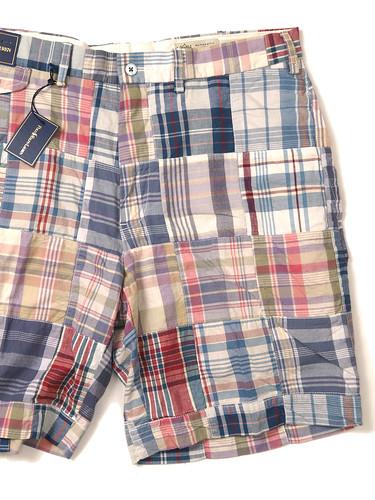 Ralph Lauren / Patchwork Madras Short