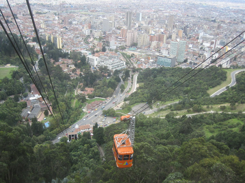 Bogota Teleferico View
