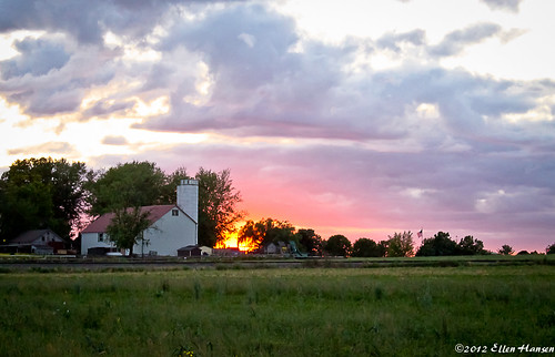 Sunset in Amish Country,  Paradiise , Pa by Genny164