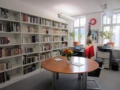 Relanzamiento  de la biblioteca del Consulado General de México en Frankfurt del Meno
