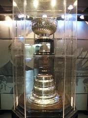 Original Stanley Cup in Lord Stanley's Vault