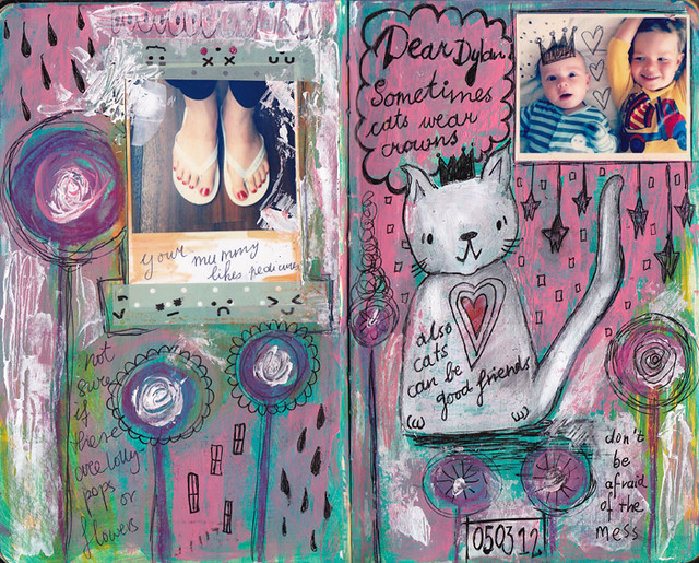 Dylan & Elliot Art Journal - p2
