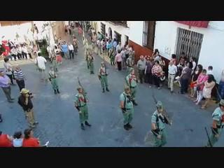 video 01 Periana procesión San Isidro Labrador 2012 desfile de la Legión Española