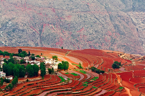 Dongchuan Red Land, travel bucket list photos