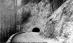 Tunnel on Willamette Pass Hi Way, Klamath Falls, Ore.