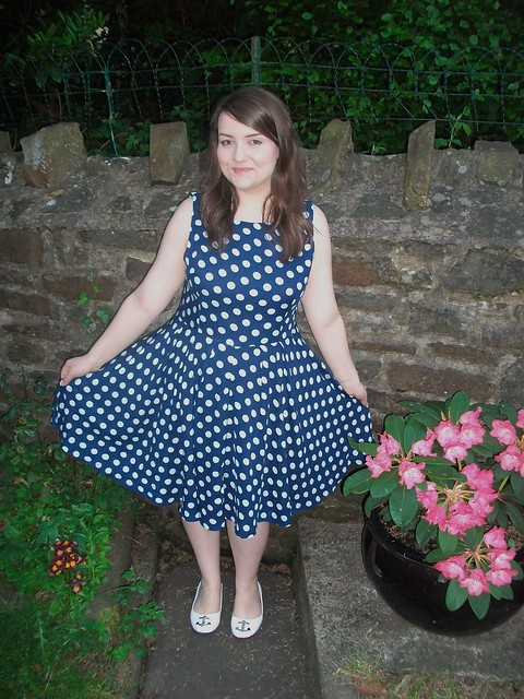 ax paris polka dot dress