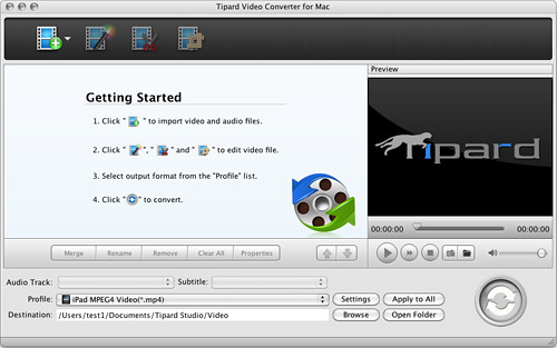 How to convert video to iPod/PSP/MP4/MP3/3GP on Mac? 7271116628_b8a9187dc1