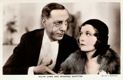 Ralph Lynn and Winifred Shotter in Summer Lightning (1933)