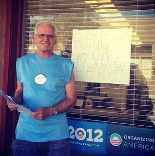 Fred, Tampa, Voter Registration, 400, volunteer