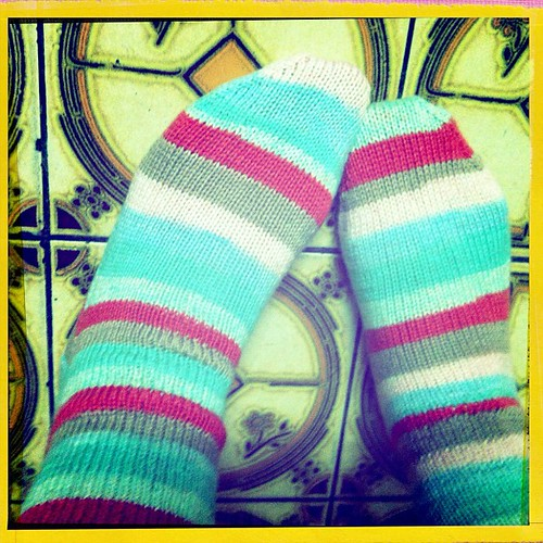 Socks completed!!! 3 things off my May Craft Complete month list!! #knitgeek