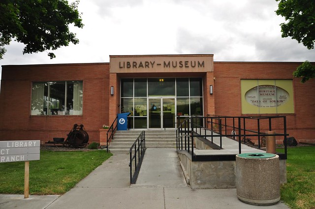 Library and museum