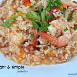 light & simple jambalaya
