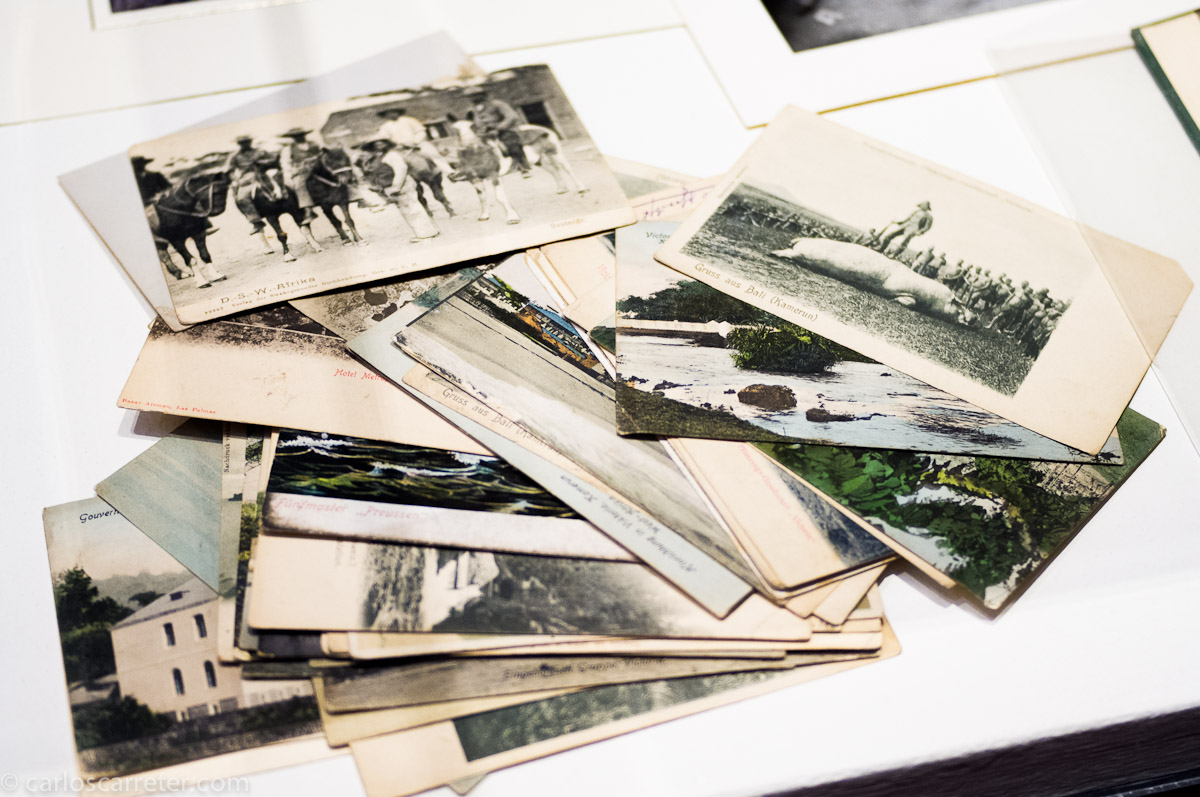 Fotos y postales de la época