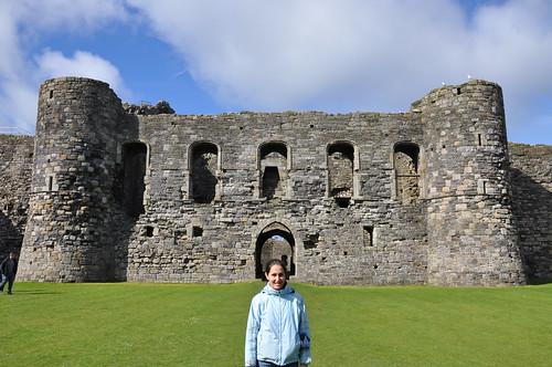 Beaumaris castle internal fortifications