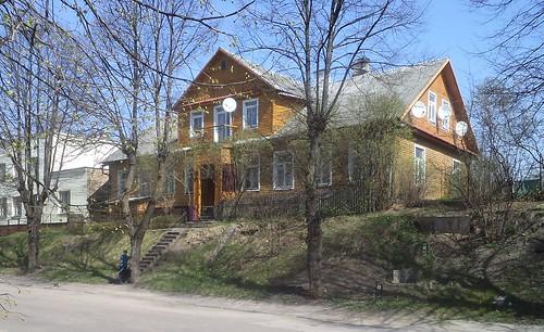 Drewniany Dom W Wilnie by xpisto1
