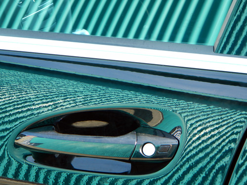 corrugated reflection