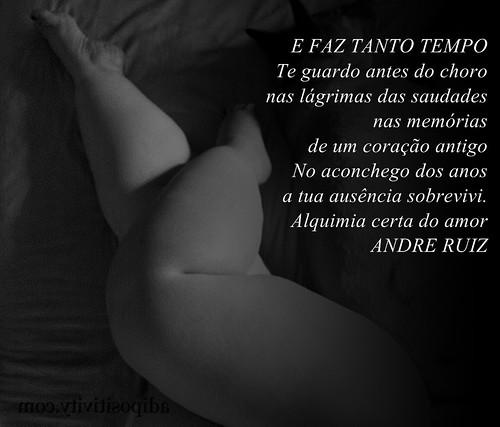 E FAZ TANTO TEMPO by amigos do poeta