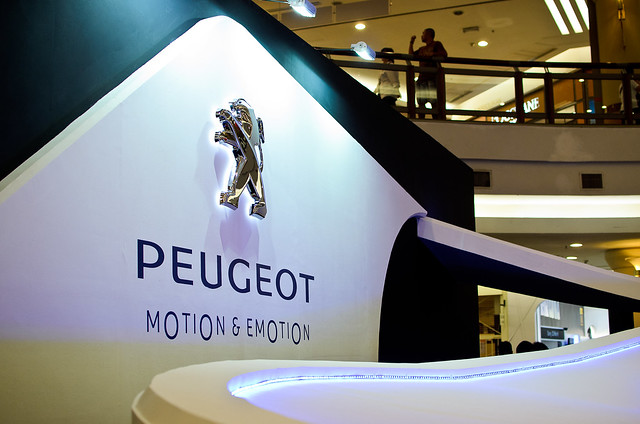 Peugeot - Motion & Emotion Tour 2012