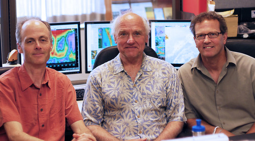 Garth Ferber (left), Mark Moore (middle) and Kenny Kramer (right). USFS photo.