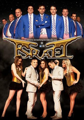 Israel Espectáculo 2012 - orquesta - cartel