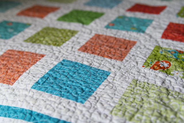 STITCHED by Crystal: Tutorial: Free motion machine quilting : how to stipple quilt by machine - Adamdwight.com