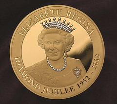 Diamond Encrusted JUbilee coin