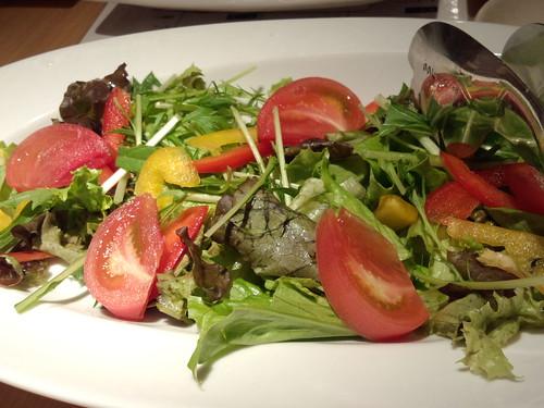 さっぱりおろしのグリーンサラダ