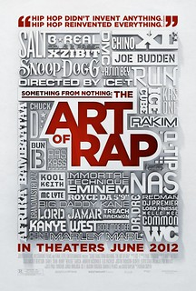 2012最佳紀錄片電影海報 - Something From Nothing The Art of Rap