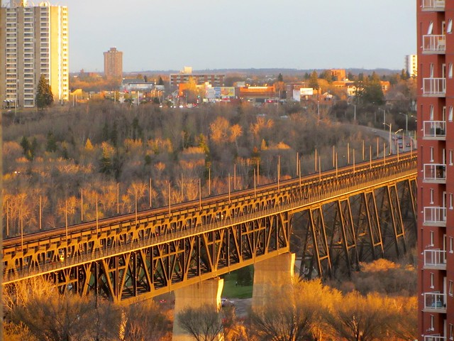 The High-Level Bridge in Edmonton