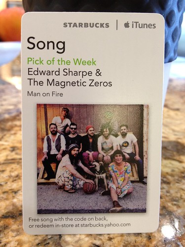 Starbucks iTunes Pick of the Week - Edward Sharpe & the Magnetic Zeros - Man on Fire