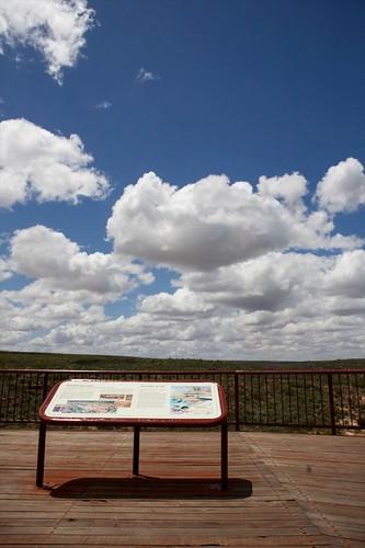trip travel november sky building nature weather sign clouds canon landscape eos nationalpark bush flickr day view cloudy outdoor oz australia botanic signpost gps aussie westernaustralia excursion kalbarri 2470mm 2011 canoneos5d canonef2470mmf28l
