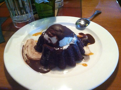 Chocolate Molten Lava Cake by raise my voice