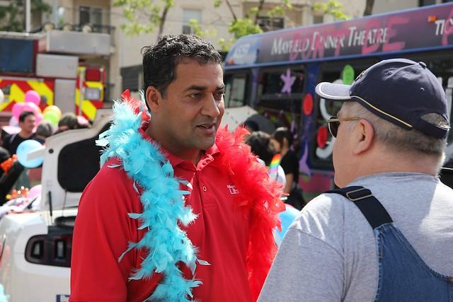 Edmonton Pride Parade 2012 Raj Sherman