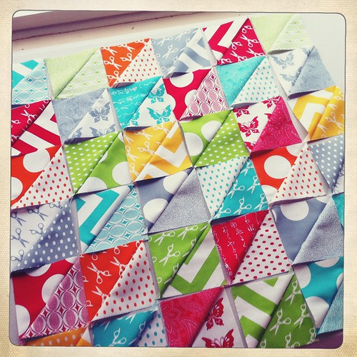 Making Baby's First Quilt