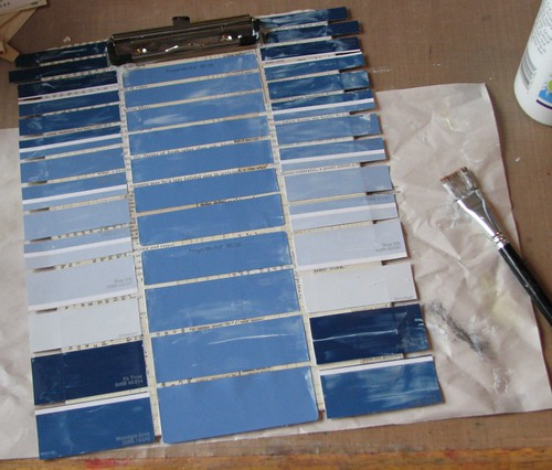 Paint Chip Clipboard 013