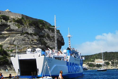 Ferry to Sardinia, Italy
