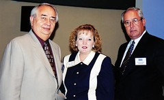 Dr. Raul Cardenas, Sandra Dowling and Dr. Fred Gaskin