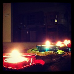 Girls night with candlelight #fromalowangle #photoadayjune