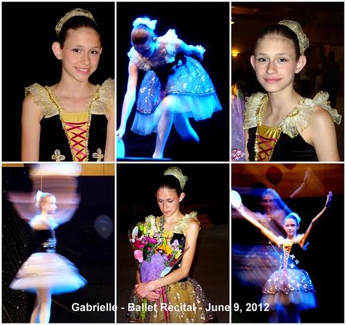 Gabrielle's Ballet Recital by bellearielparis