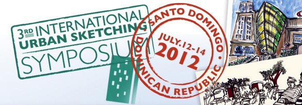3rd international urban sketching symposium in santo domingo